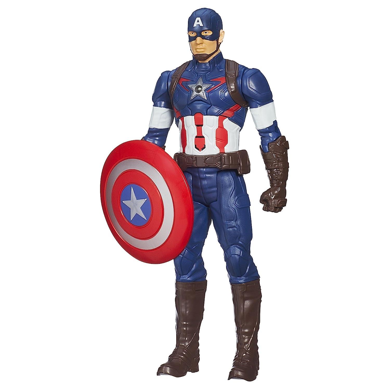Marvel Avengers l'Ère d'Ultron Titan Hero Tech Figurine Captain America de 30,5cm 5cm Hasbro B1495