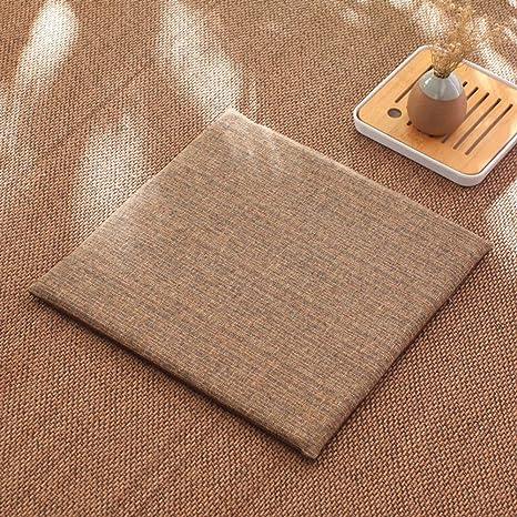 AFDK Látex asiento Cojines, paquete de 4 tatami silla de ...