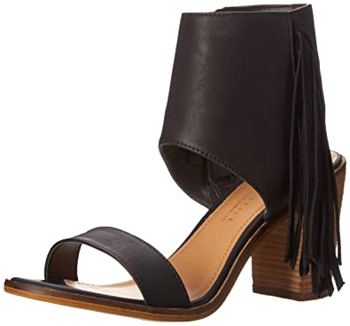 Very Volatile Womens South Dress Ankle Wrap Sandal Brown Size 8 M US