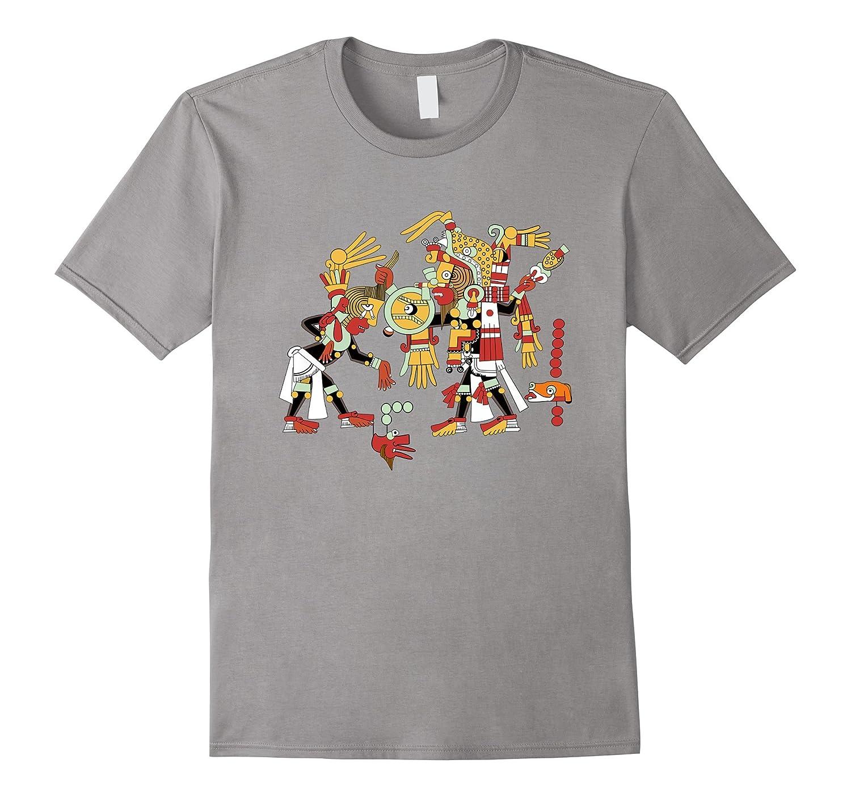 Mayan Ritual Design T Shirt Archeology Student Teacher Tee-ANZ