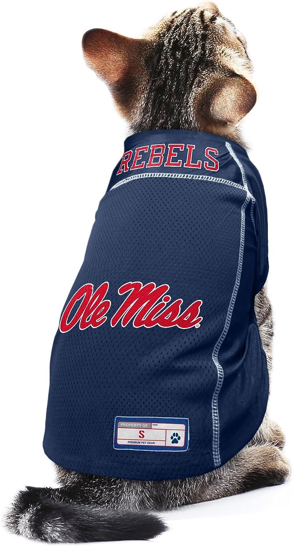 Littlearth NCAA Ole Miss Rebels Pet Jersey Small