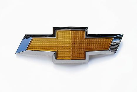 Amazon Front Grill Grille Gold Chrome Emblem Bowtie Bow Tie