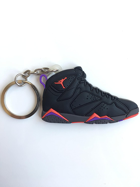 23 OG SneakerKeychainsNY Jordan Retro 7 Raptor Llavero de Zapatillas AJ
