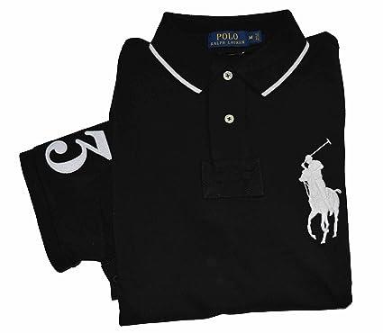 Polo Ralph Lauren Men\u0027s Slim Fit Big Pony Mesh Short Sleeve Polo Shirt  (Medium,
