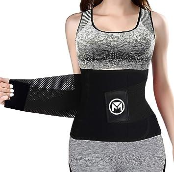 Amazon.com: Cinturón de entrenamiento de cintura para ...