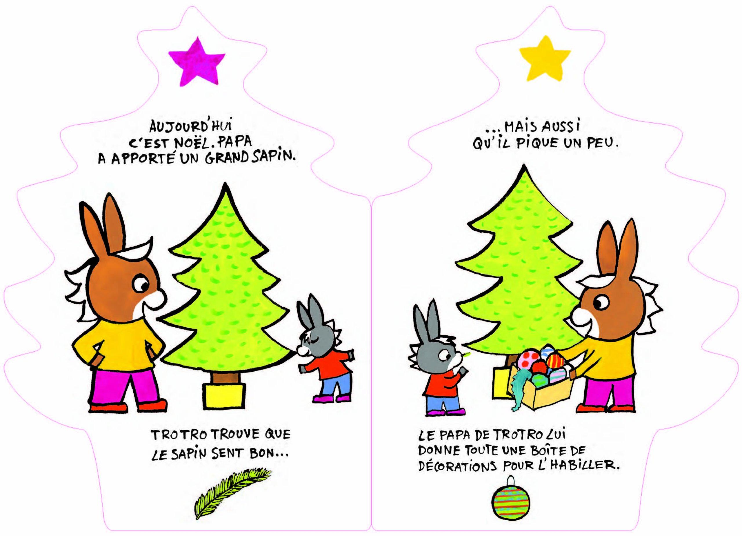 Trotro decore le sapin de noel cadeaux de no l populaires - Trotro et noel ...