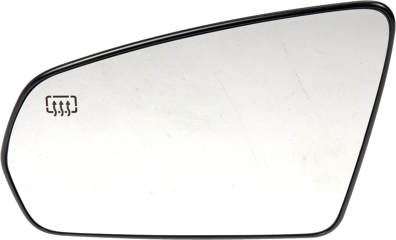 Dorman 56554 Infiniti//Nissan Driver Side Heated Plastic Backed Door Mirror Glass