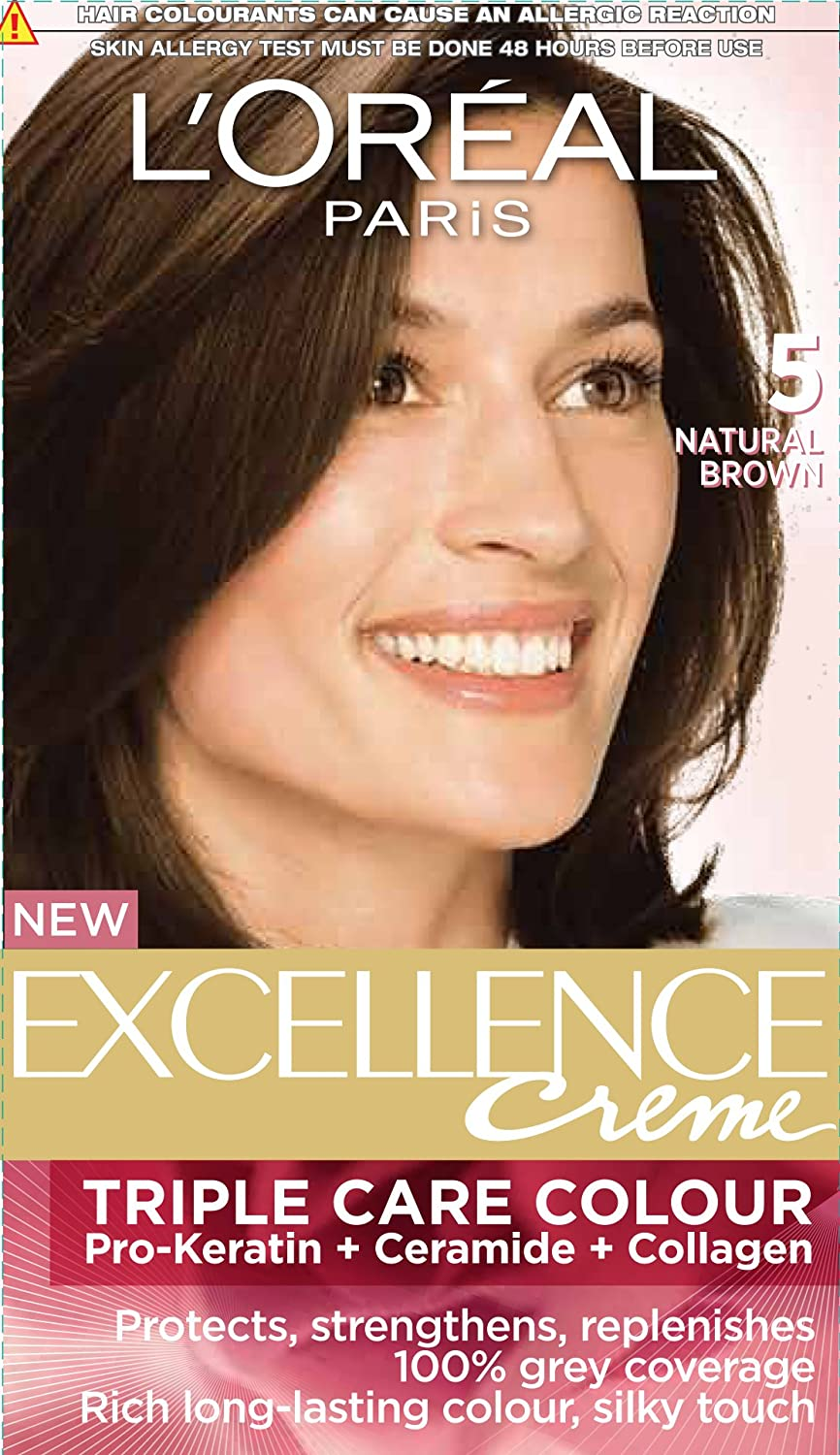 Buy Loreal Paris Excellence Creme Natural Brown 05 72ml100g