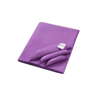 Serviette en microfibre avec joli sac de transport et carte de nettoyage téléphone. Grandes tailles– serviette à séchage rapide en 5superbes coloris (bleu, vert, orange, violet et