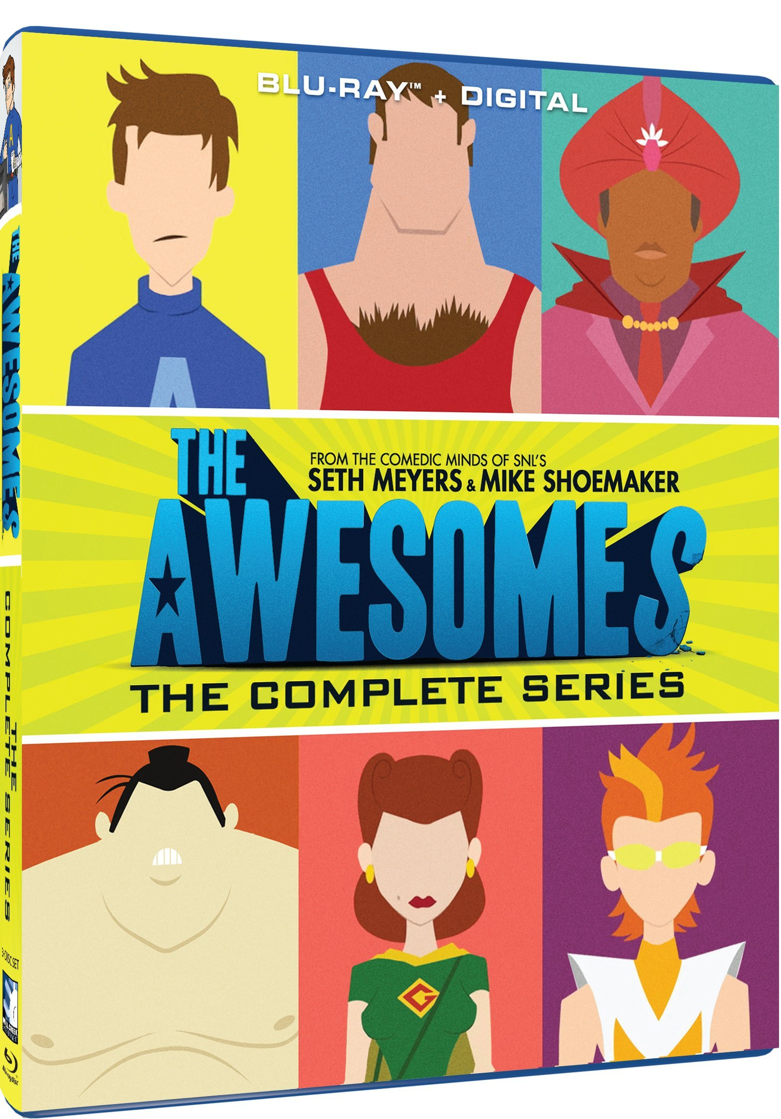 Blu-ray : The Awesomes: The Complete Series (3 Pack, 3PC)