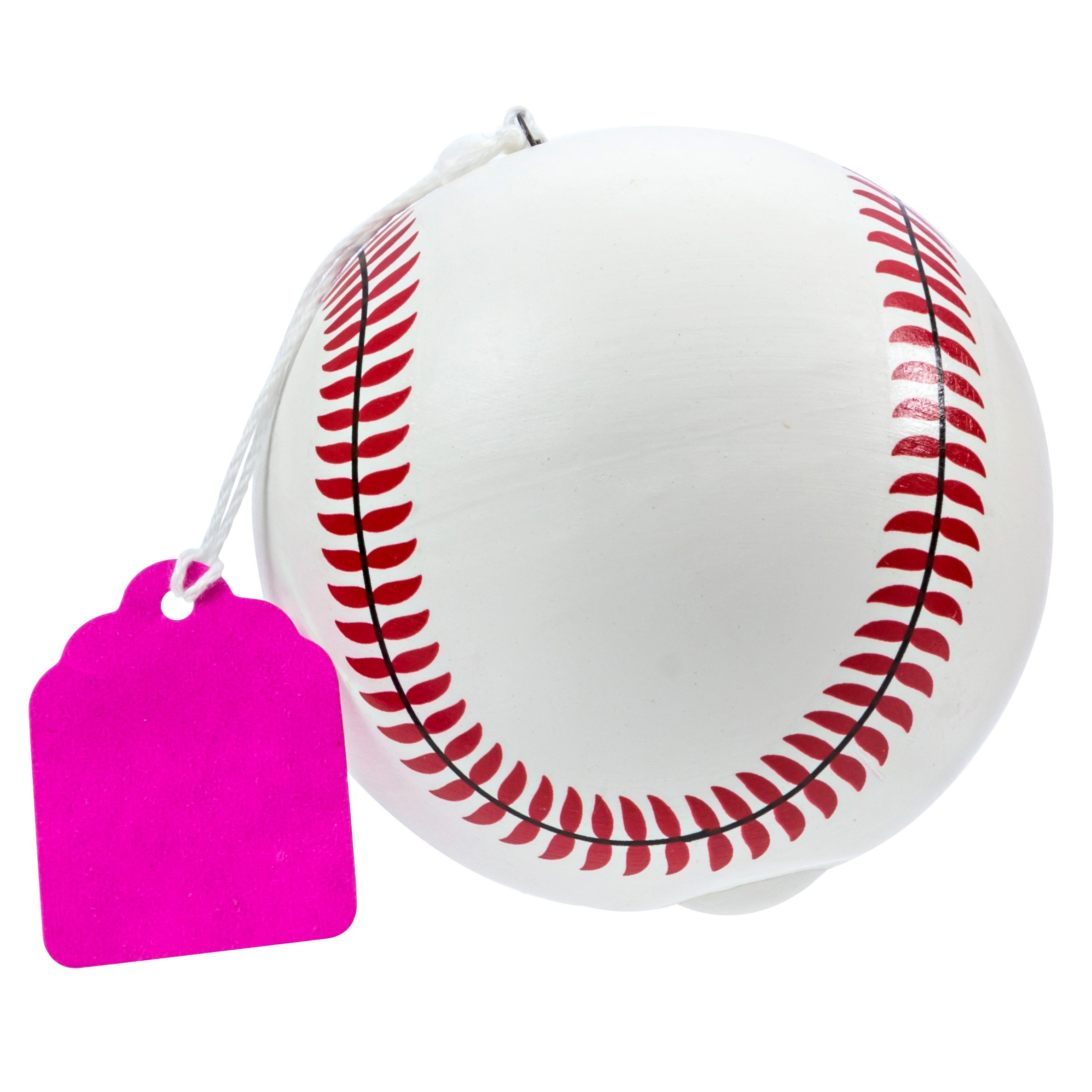 Ultimate Party Supplies Gender Reveal Baseballs Ball PINK Powder Gender Reveal Party TEAM PINK by Ultimate Party Supplies