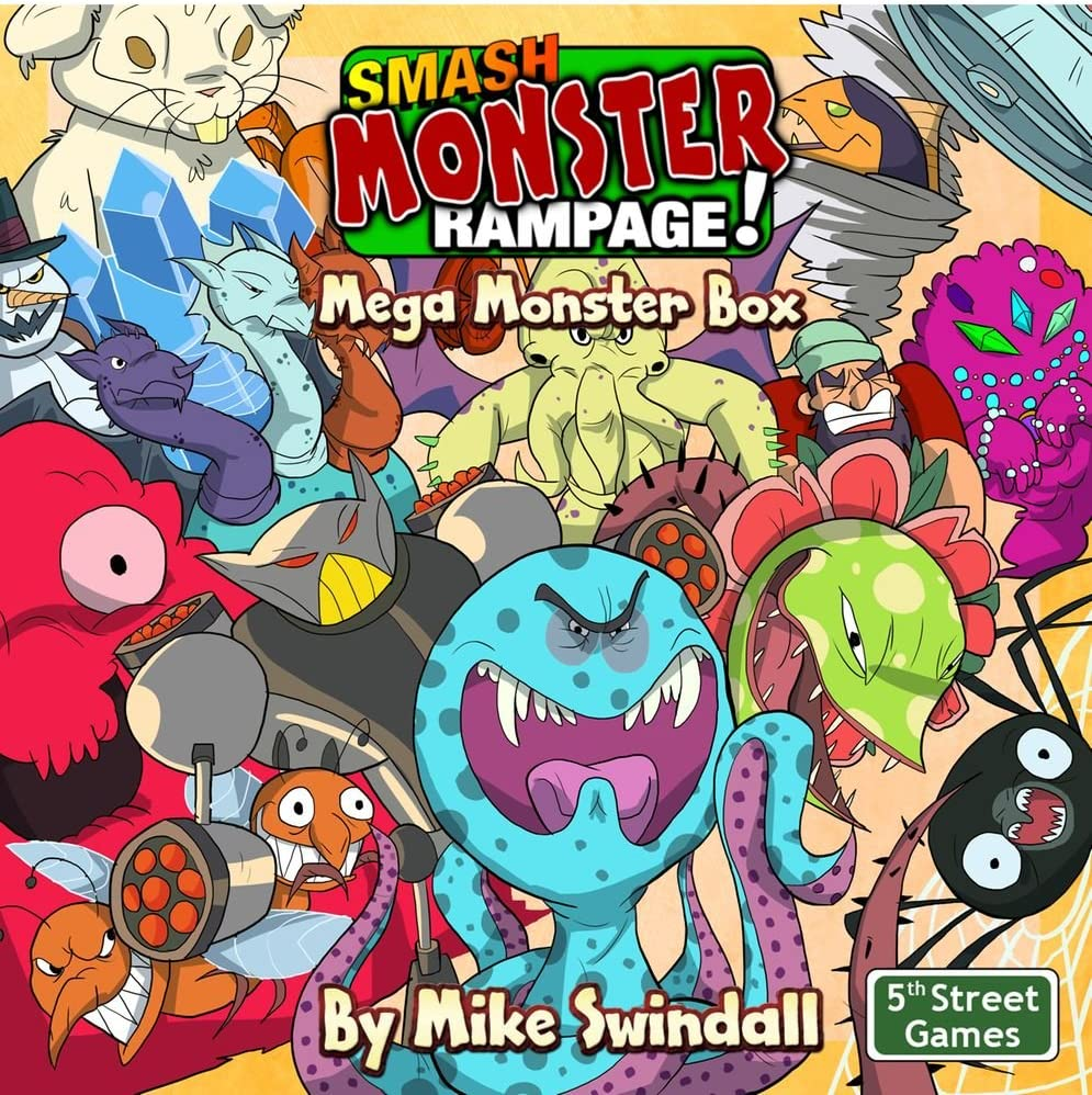 Amazon Com 5th Street Games Smash Monster Rampage Mega Monster