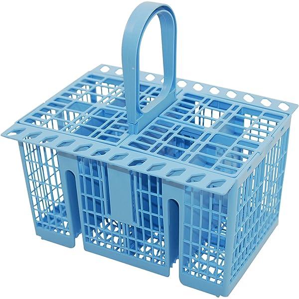 Genuine INDESIT LAVAVAJILLAS azul cesta de cubiertos C00258627 ...