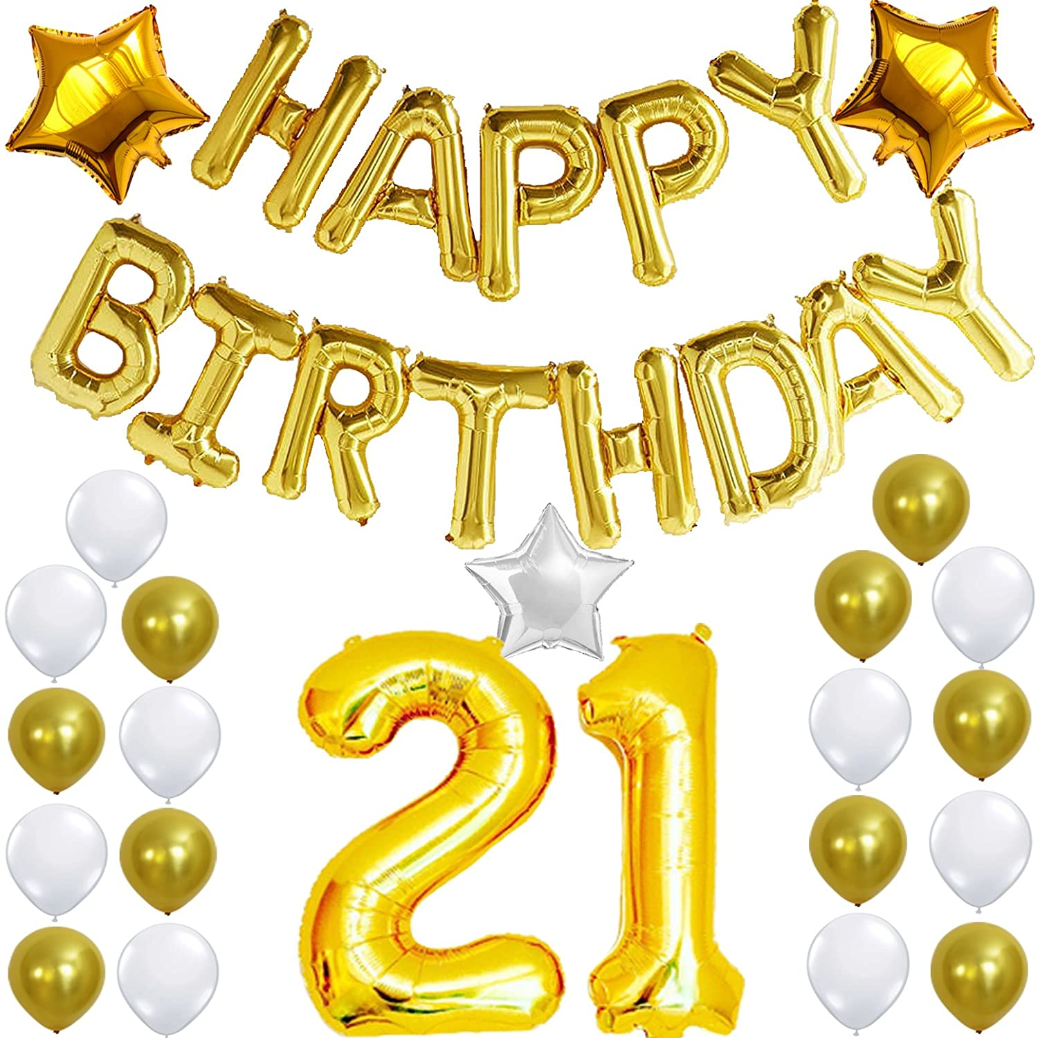Online Cheap Wholesale 21st Birthday Decorations Party KIT
