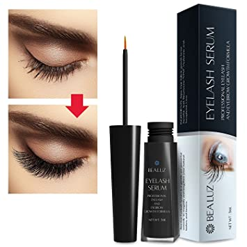 Bea luz Advanced Eyelash Growth Serum,Have Beautiful Eyelashes & Eyebrows, Supports Hair Growth