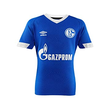new style 84f35 a154d FC Schalke 04 Home Soccer Umbro Adult 18/19: Amazon.co.uk ...