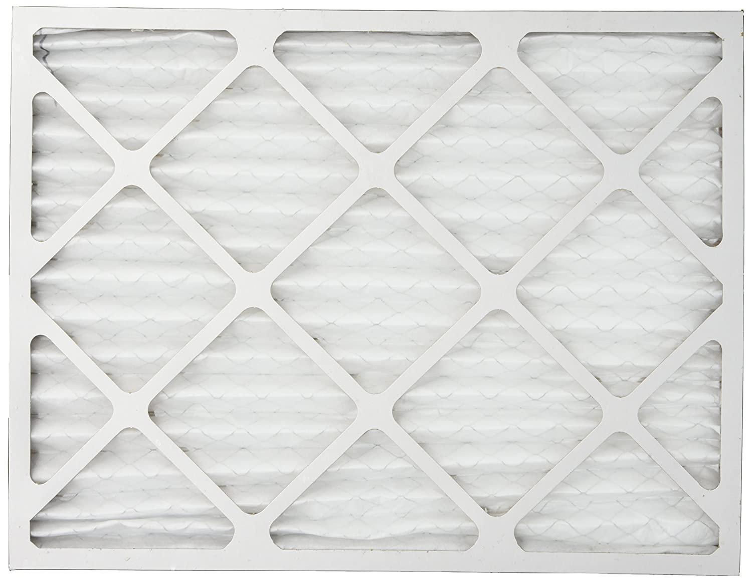 Silver FilterBuy 14x18x1 MERV 8 Pleated AC Furnace Air Filter, 14x18x1 Pack of 2 Filters
