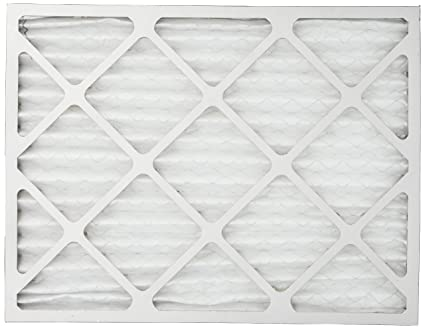filterbuy 14x18x1 merv 8 pleated ac furnace air filter, (pack of 2 ...