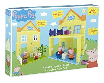 Peppa Pig Deluxe Peppa S House Construction Set Multi Colour
