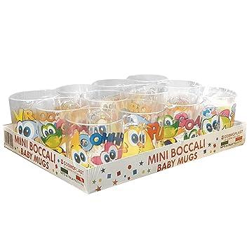 Juego De 12 Vaso Jarra Con Mango Para Ninos De Plastico Cosmoplast
