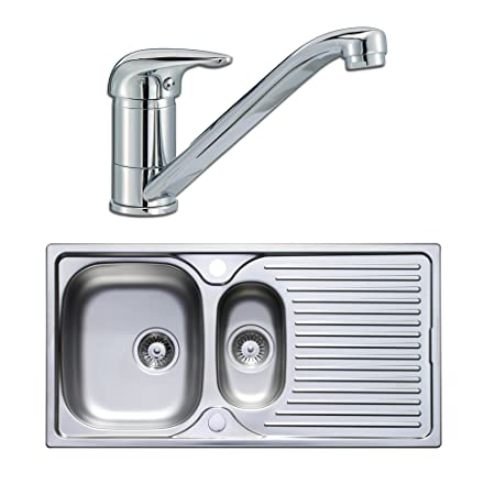 Astracast Kitchen Sinks Astracast quality 15 bowl stainless steel kitchen sink lever tap astracast quality 15 bowl stainless steel kitchen sink lever tap pack workwithnaturefo