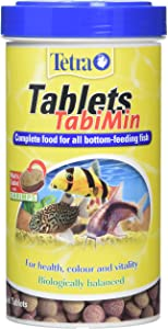 Tetra Tablets TabiMin, Complete Food for Bottom-Feeding Tropical Fish, 1040 Tablets