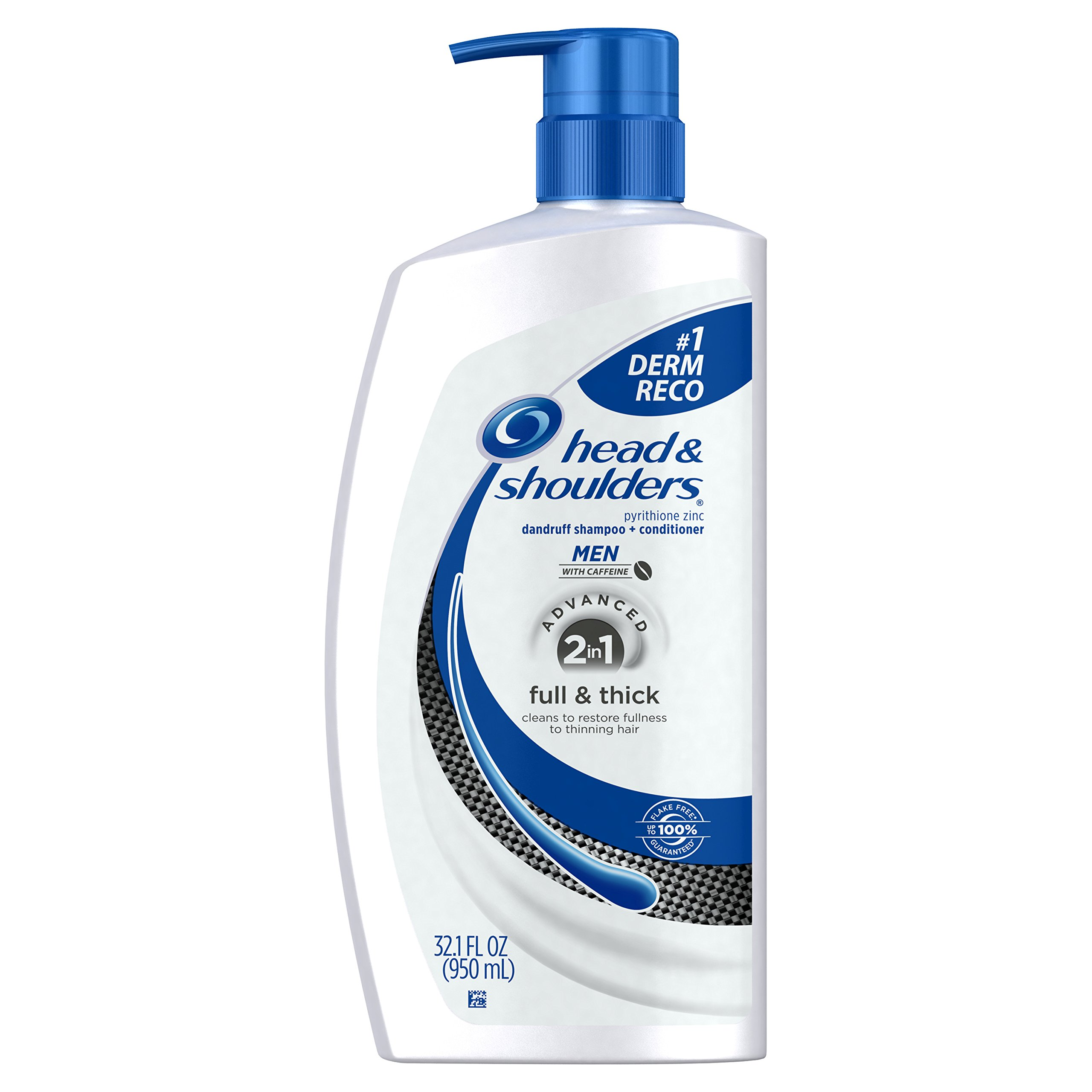Head and Shoulders Full and Thick 2-in-1 Anti-Dandruff Shampoo + Conditioner 32.1 Fl Oz