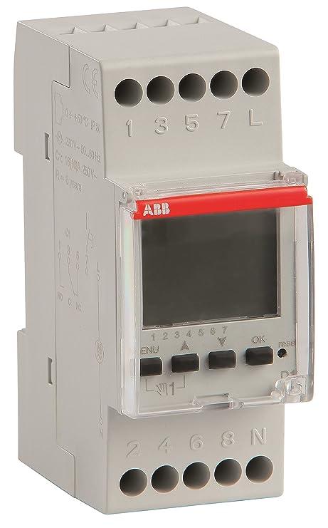 Abb-entrelec - Programador digital d1