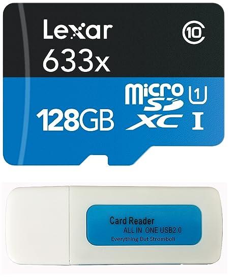 Lexar Tarjeta de memoria para GoPro blanco Class 10 128GB ...
