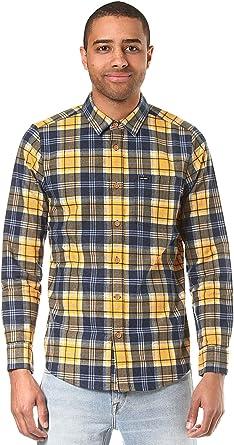 Volcom Hayden L/S Blau Hemd Herren - Camisa Hombre: Amazon.es: Deportes y aire libre