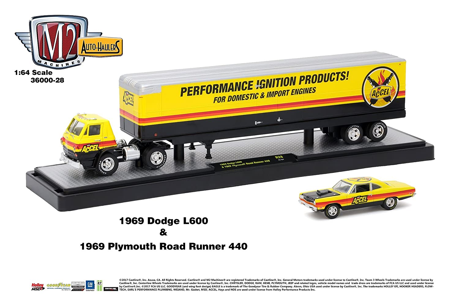 New 164 M2 Machines Collection Auto Haulers Wave 28 1949 Dodge Semi Truck Trailer Assortment Chevy Mercury Diecast Model Car By Set Of