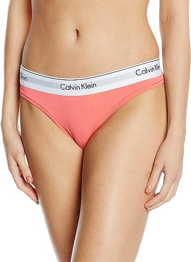 Calvin Klein Underwear, Braguitas para Mujer, Rosa (POISE 6OI), XS: Amazon.es: Ropa y accesorios