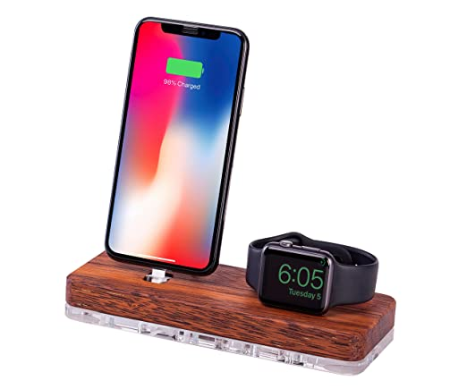 Amazon.com: Apple cargador de reloj, iPhone dock, Apple ...