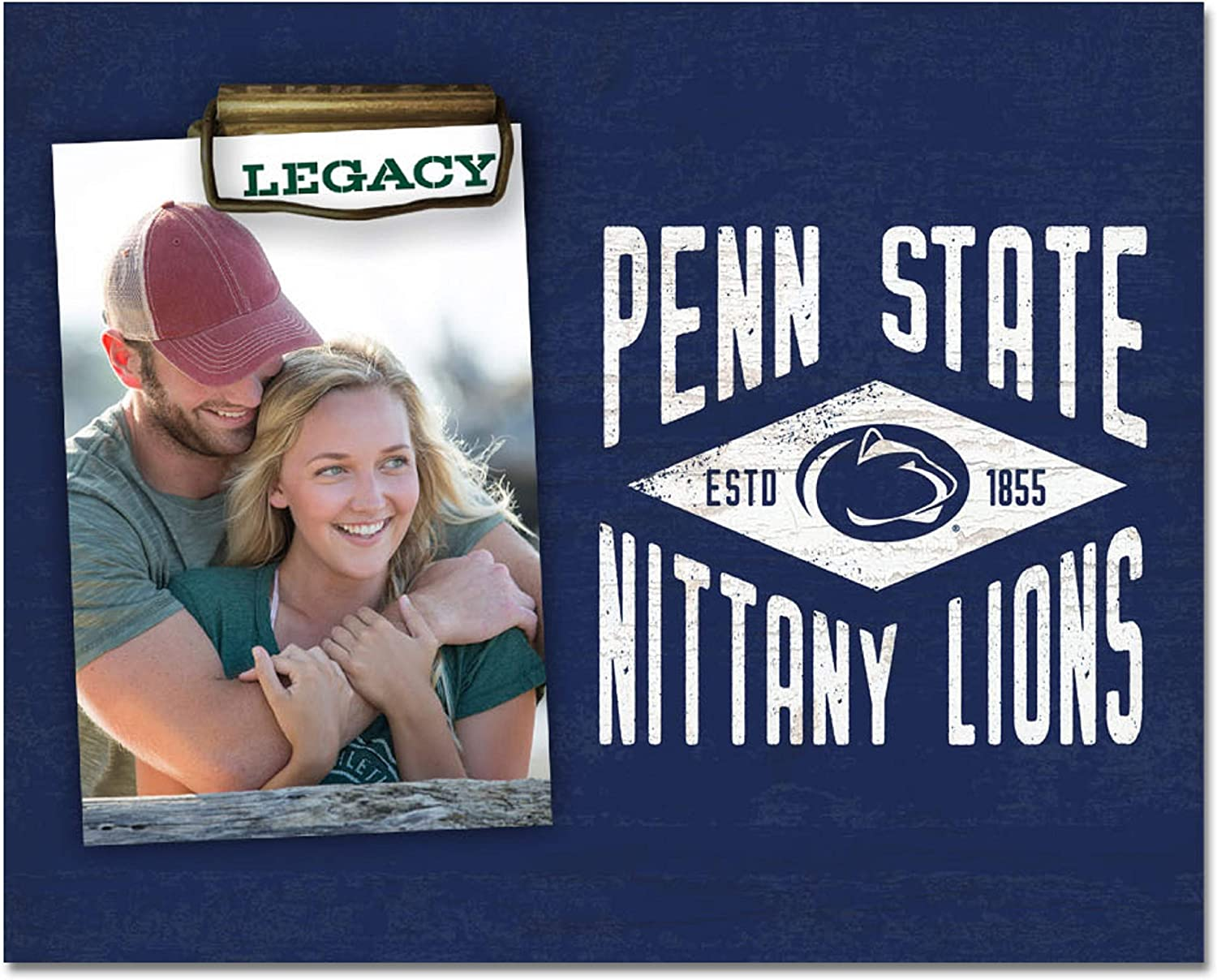 NCAA Legacy Penn State Nittany Lions Memento Photo Holder 8x10, One Size, Wood