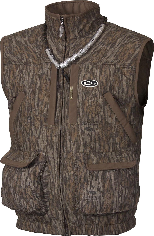 74bb7669828ce Amazon.com : Drake MST Refuge HS Vest 2.0 (Mossy Oak Bottomland) (Medium) :  Sports & Outdoors