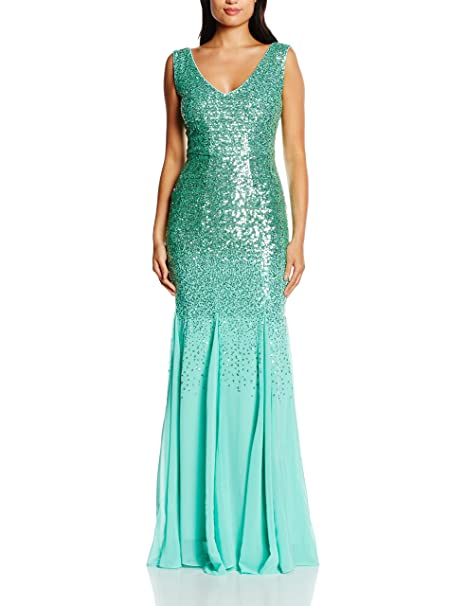 Quiz Vestido Verde ES 46 (UK 18)