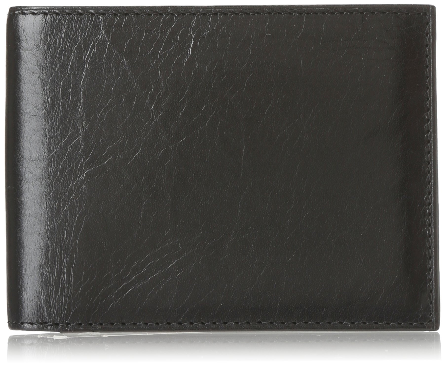 Bosca Old Leather Continental I.D. Wallet Black One Size