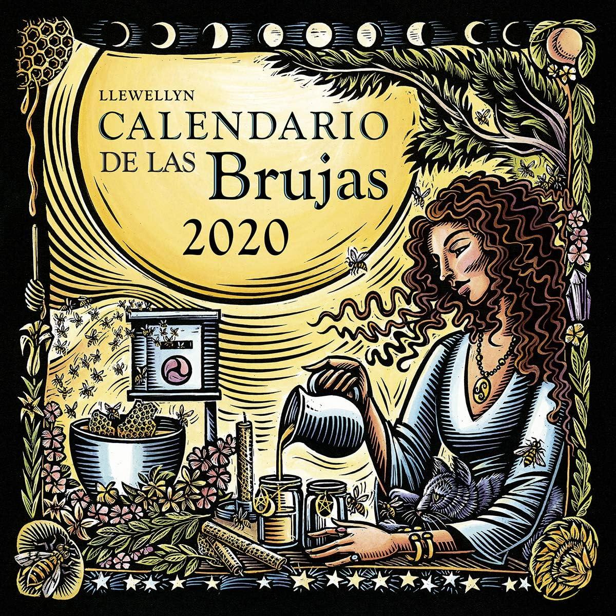 Calendario de Las Brujas 2020: Llewellyn: Amazon.es: Oficina y papelería