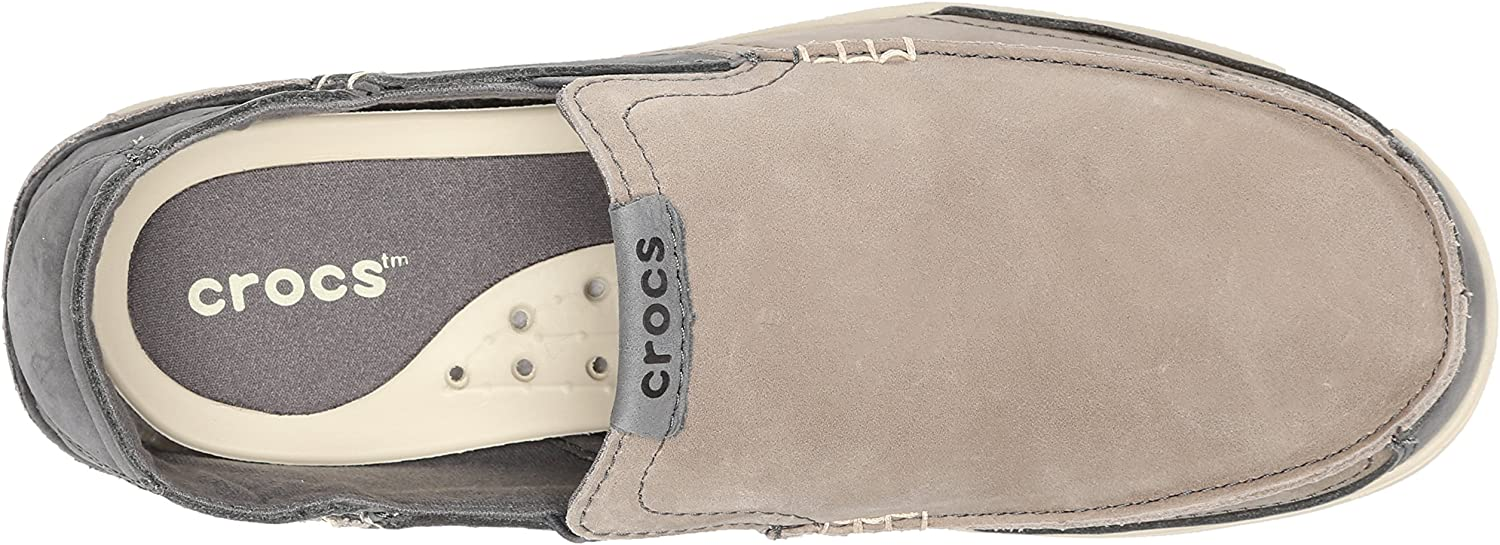 Crocs Mens Walu Express Leather Loafer