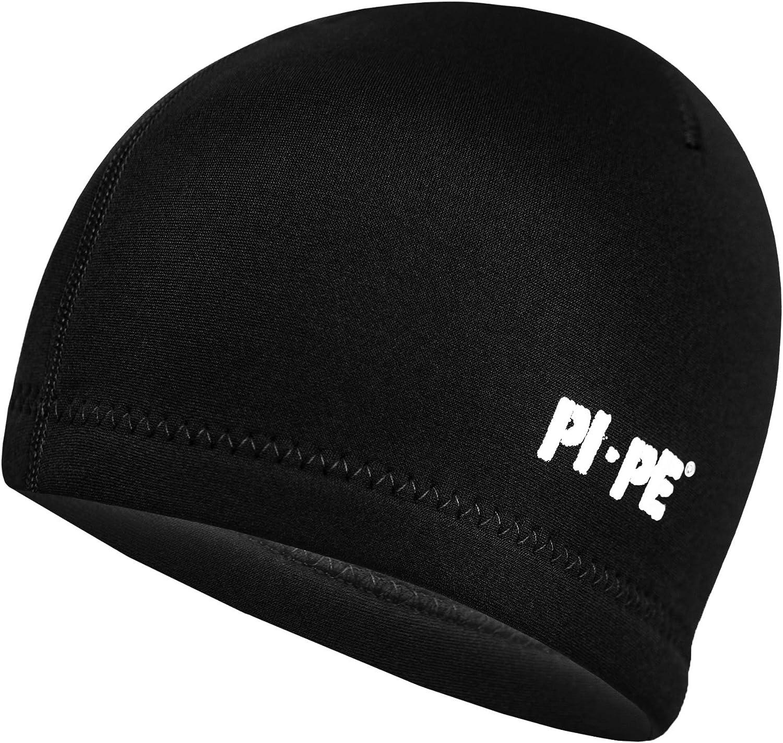 PI-PE Bonnet en n/éopr/ène Noir 2 mm