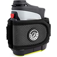 Stripebird - Golf Players Magnetic Rangefinder Wrap Mount (Strap) - Easily Access Laser Range Finder Device While You Golf - Simple Golf Cart or Golf Bag Holder Attachment for Golfers