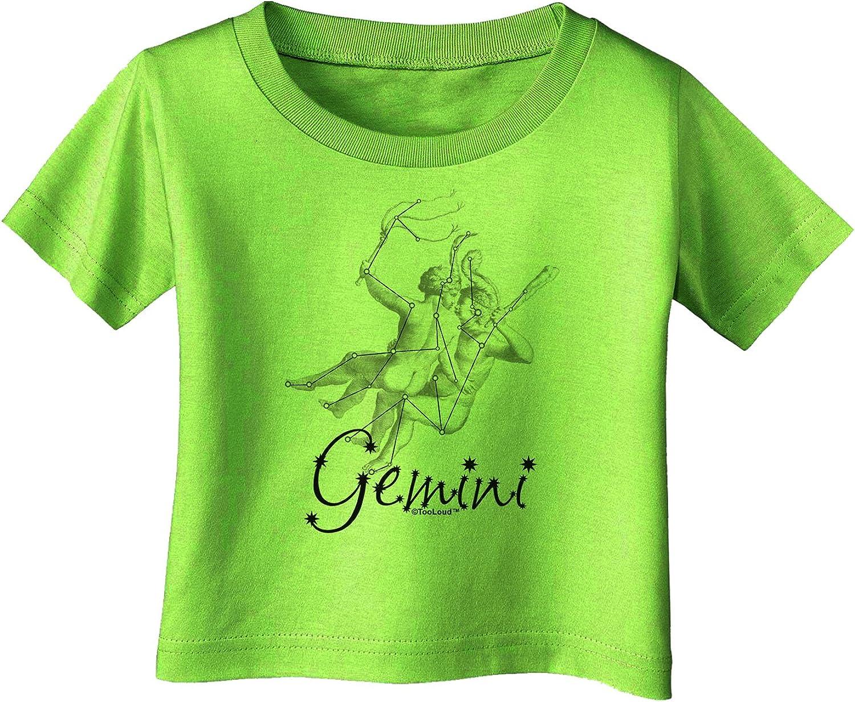 TooLoud Gemini Illustration Infant T-Shirt Dark