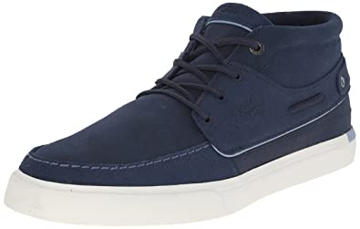Lacoste Mens Meyssac Deck 116 1 Fashion Sneaker Navy