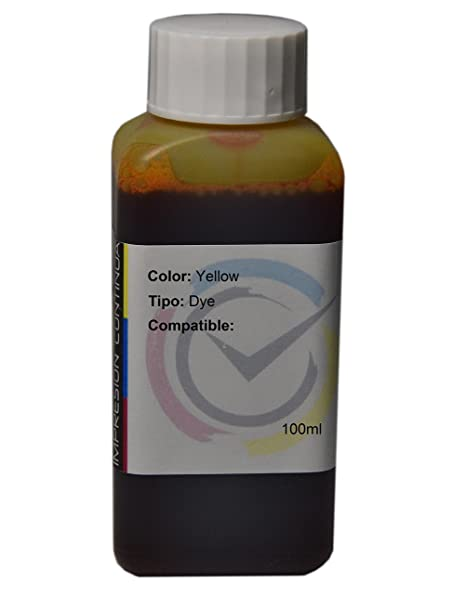 Tinta Yellow Compatible con Cartuchos HP 302 y 302 X L para ...