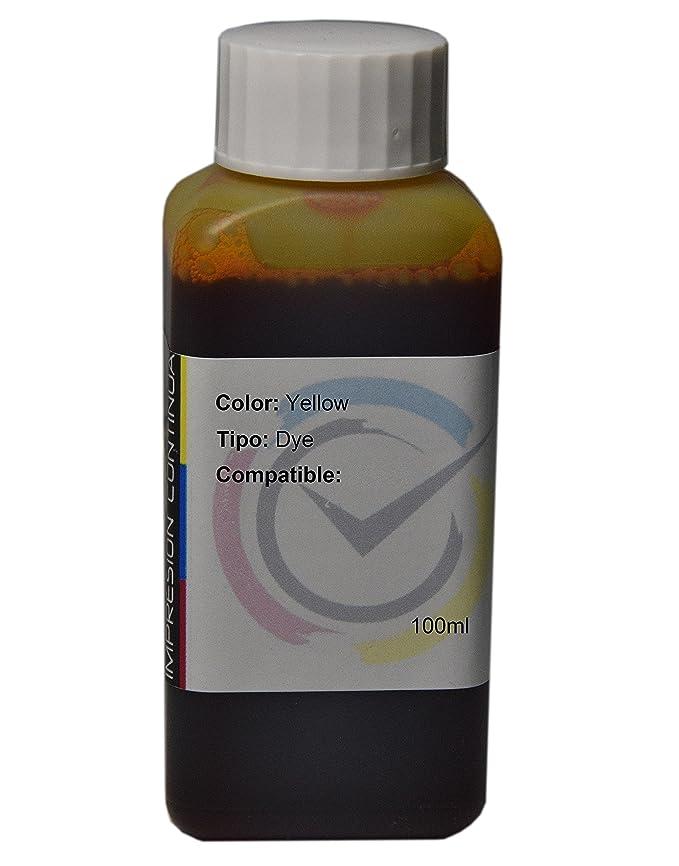 Tinta Yellow Compatible con Cartuchos Canon CL-546 para ...
