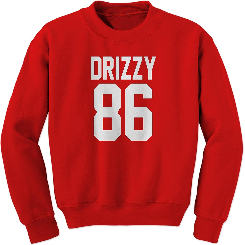 Expression Tees Drizzy 86 Team Canada Toronto Rap Crewneck Sweatshirt