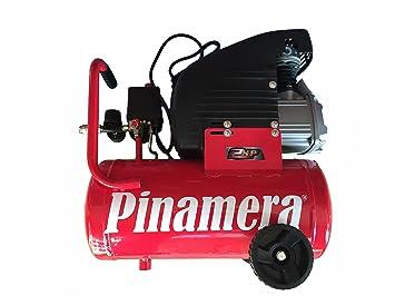 Compresor De Aire PINAMERA 2 Hp 24 Lt 8 Bar (24 Litros) Envío GRATIS 24 h.: Amazon.es: Bricolaje y herramientas