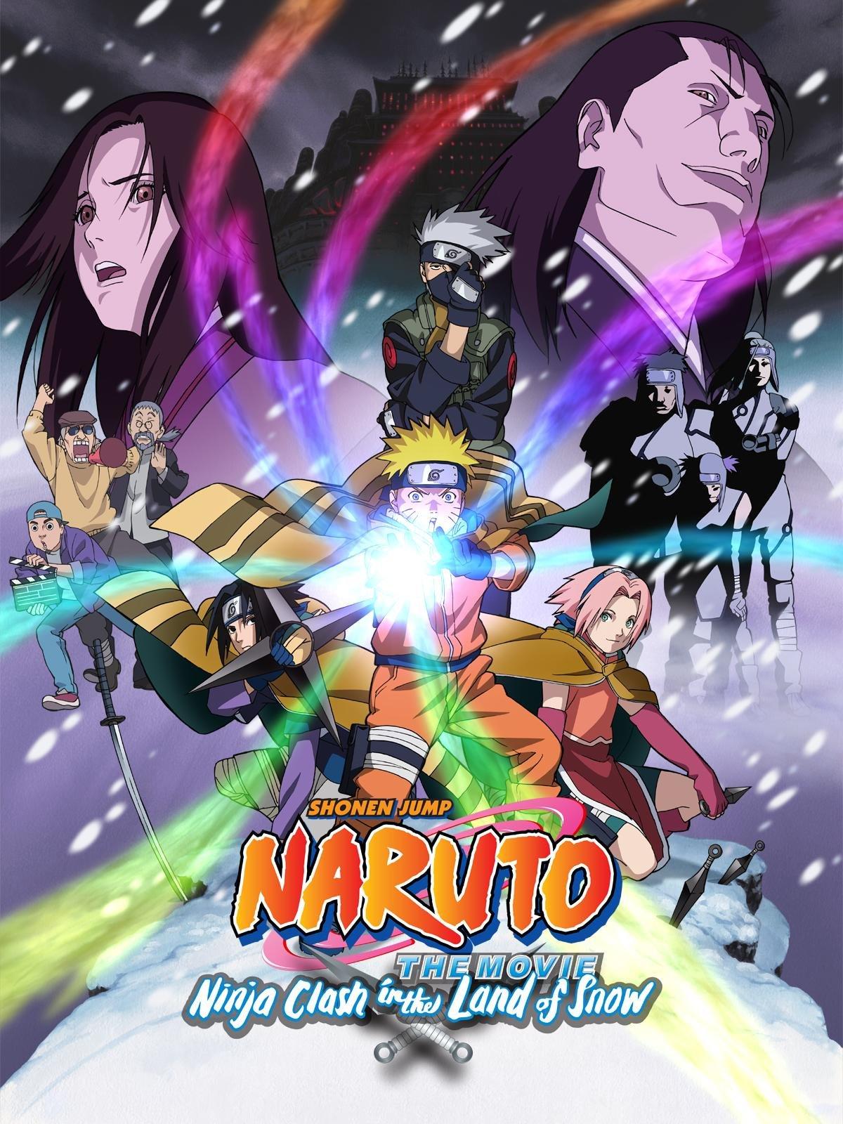 Kết quả hình ảnh cho Naruto the Movie: Ninja Clash in the Land of Snow