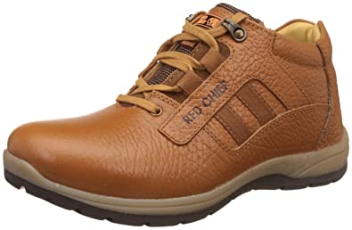 d9a90799540d8 Red Chief Men's Leather Boat Shoes