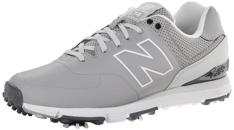 New Balance Men's NBG574 Spiked Golf Shoe B00M9EWZ9E 10 4E US|Grey